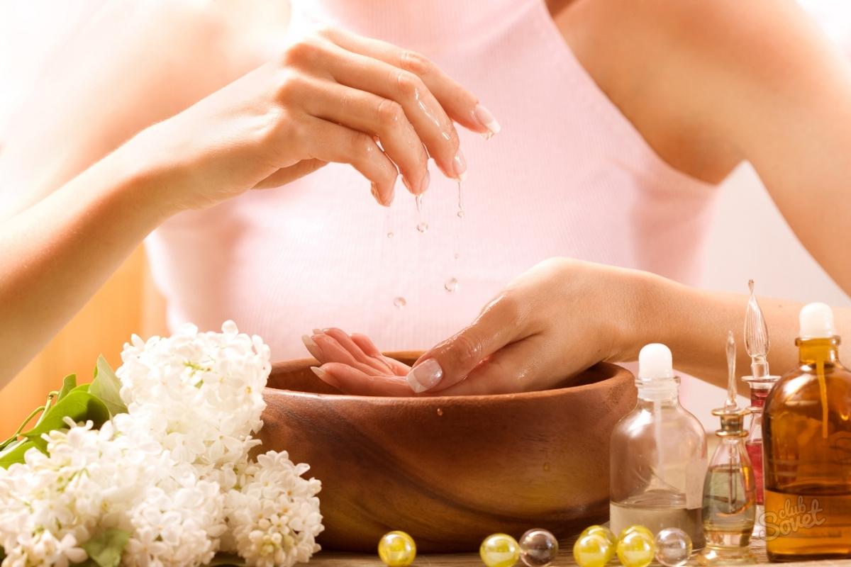 Содовые ванночки для ногтей
