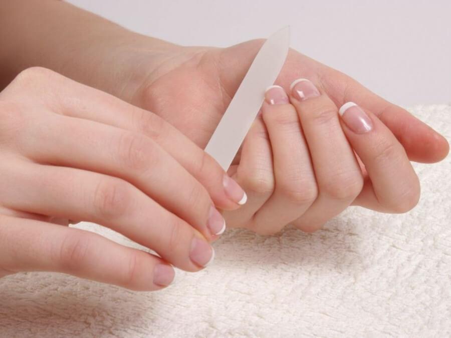 Полировка натуральных ногтей