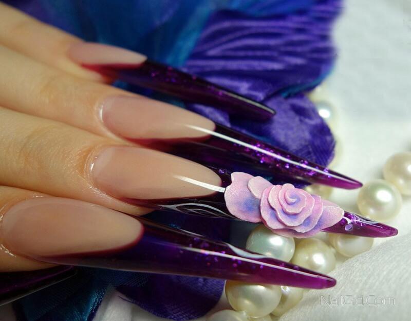 Наращивание ногтей гель лаком