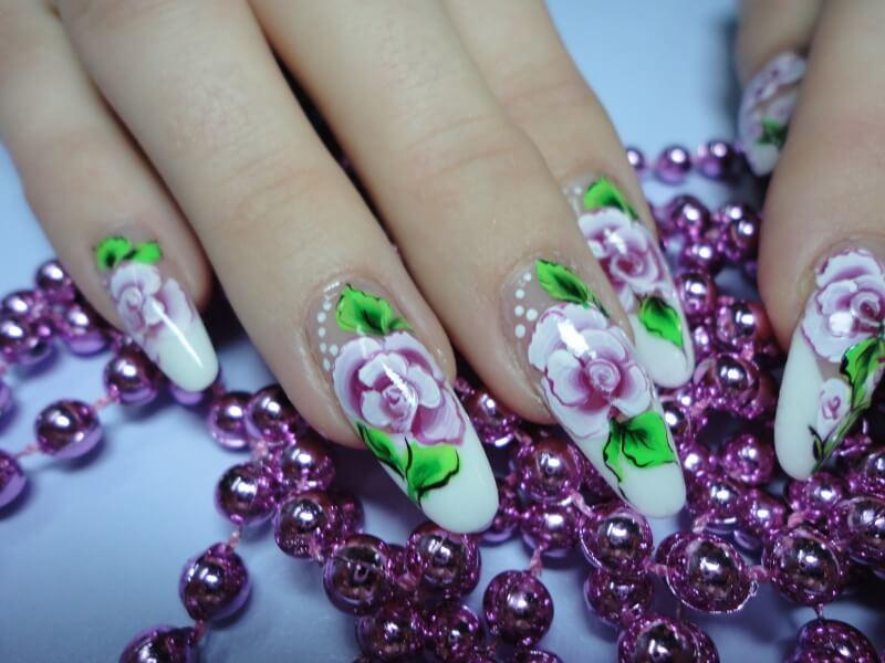 Профессиональное наращивание ногтей