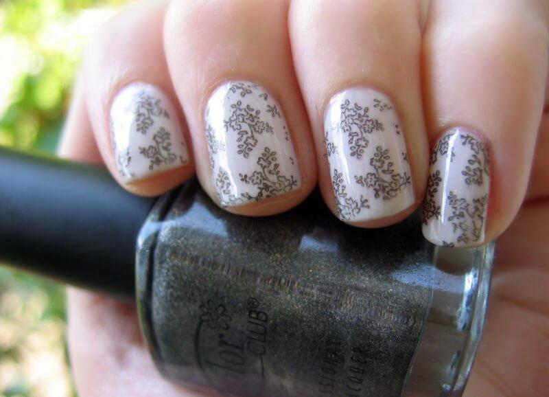 Короткие нарощенные ногти