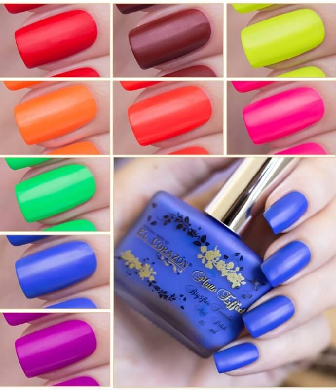 Модные яркие цвета лаков