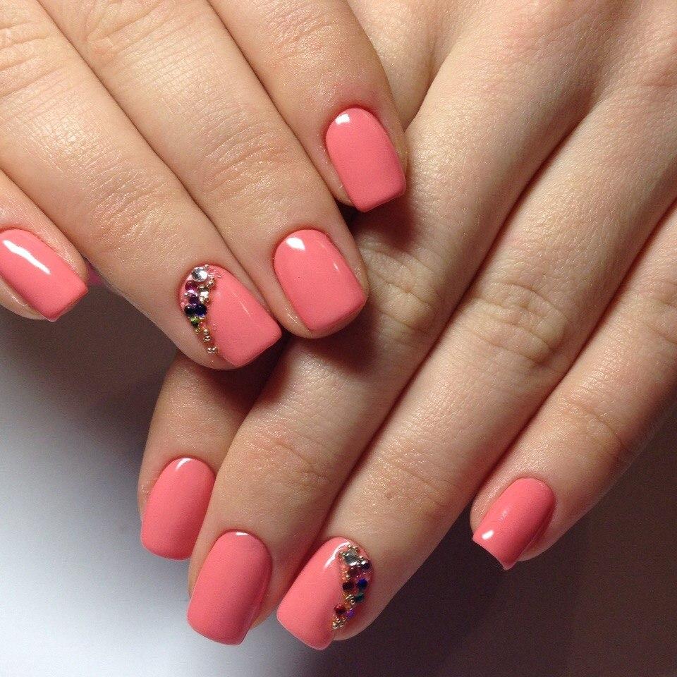 Тренды в дизайне коротких ногтей : подборка фото)