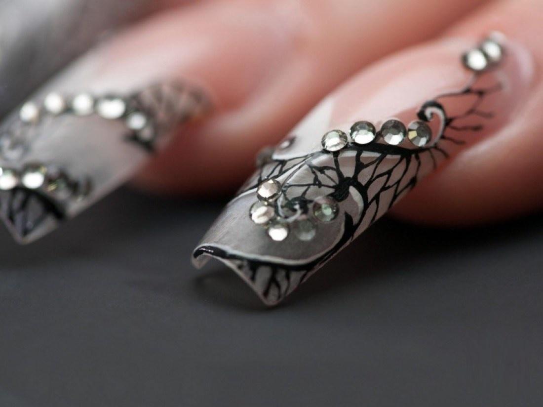 как нарастить ногти гелем дома фото