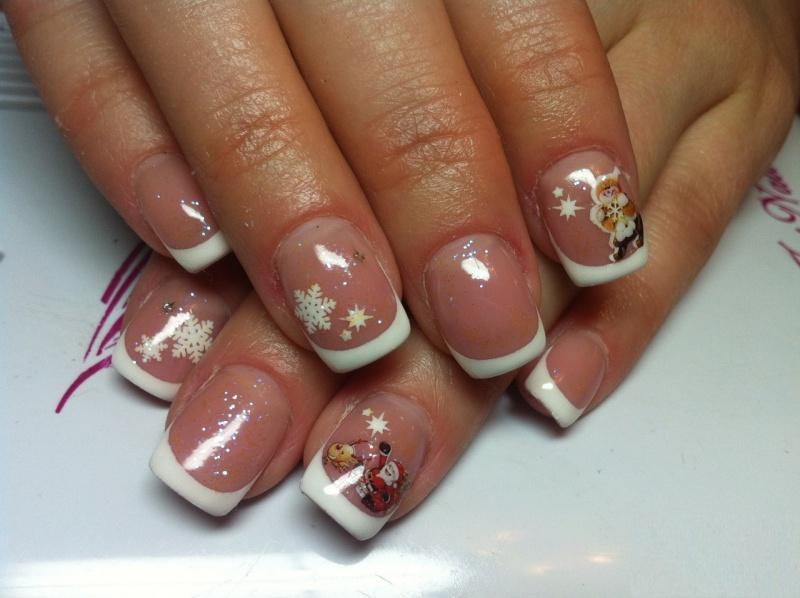 Гель лак на короткие ногти дизайн с блестками