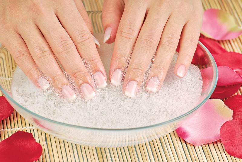 солевые ванночки для ногтевых пластин