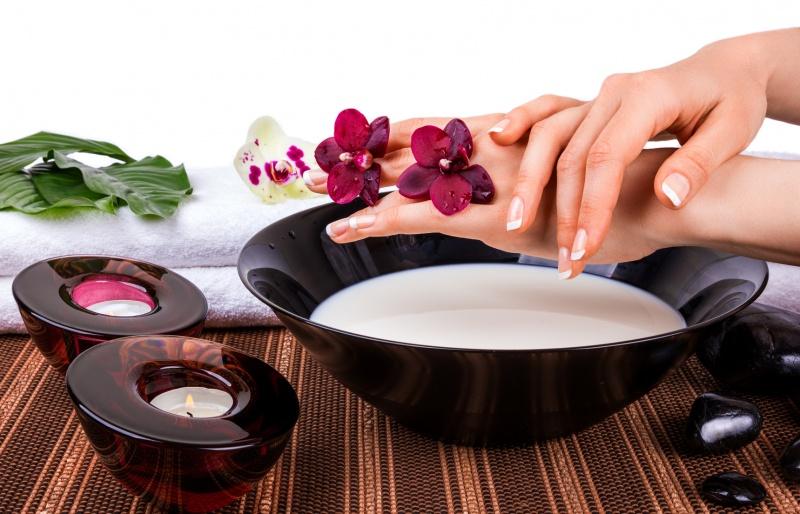 ванночка для ногтей с солью и йодом