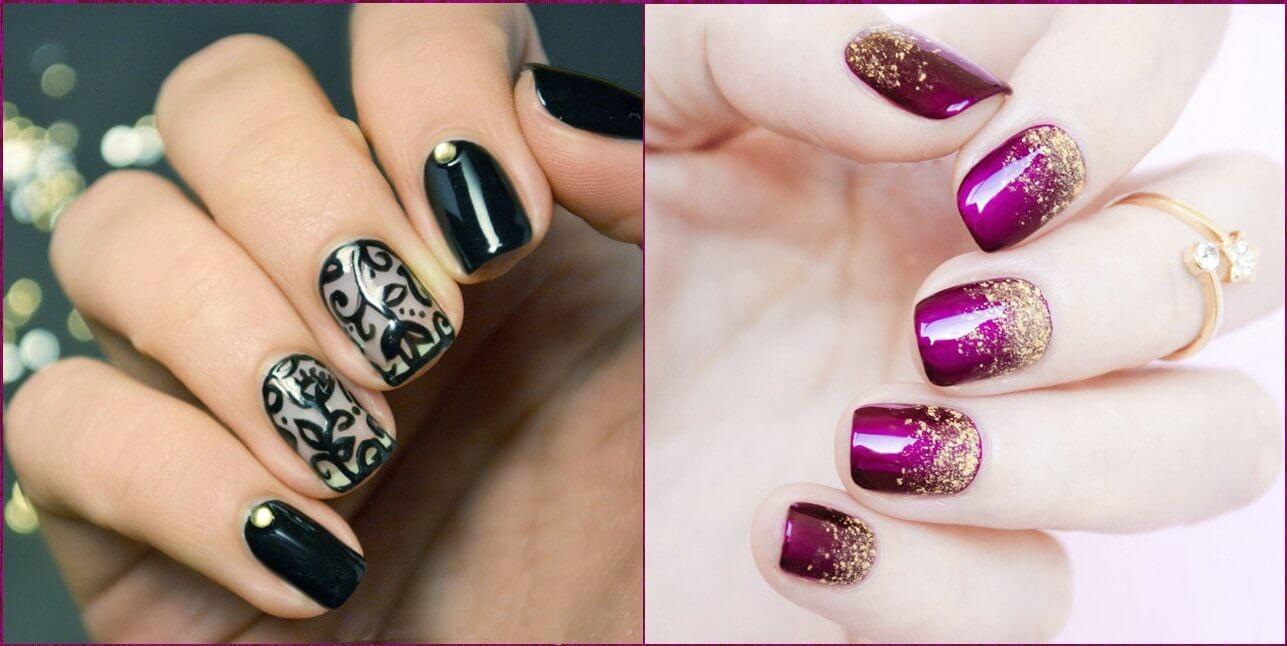 Красивые и модные ногти с рисунком