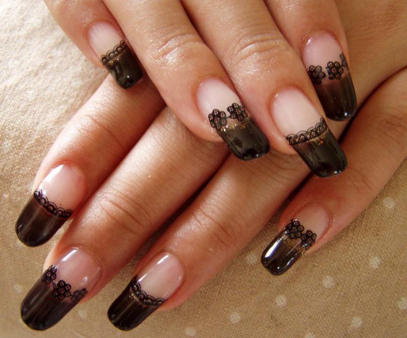 Аквариумный дизайн ногтей 60 фото красивого дизайна ногтей