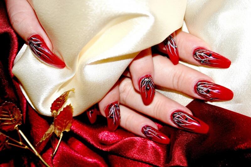 Красивый маникюр на длинных ногтях гель лак