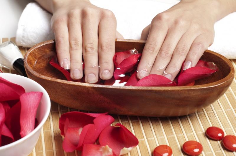 ванночки для оздоровления ногтей