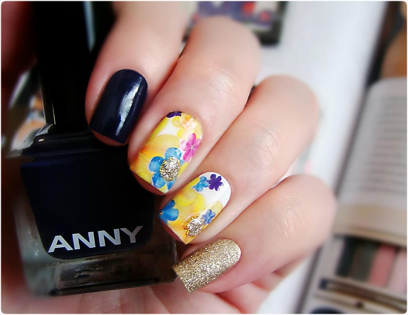 Идеи маникюра с наклейками для ногтей фото