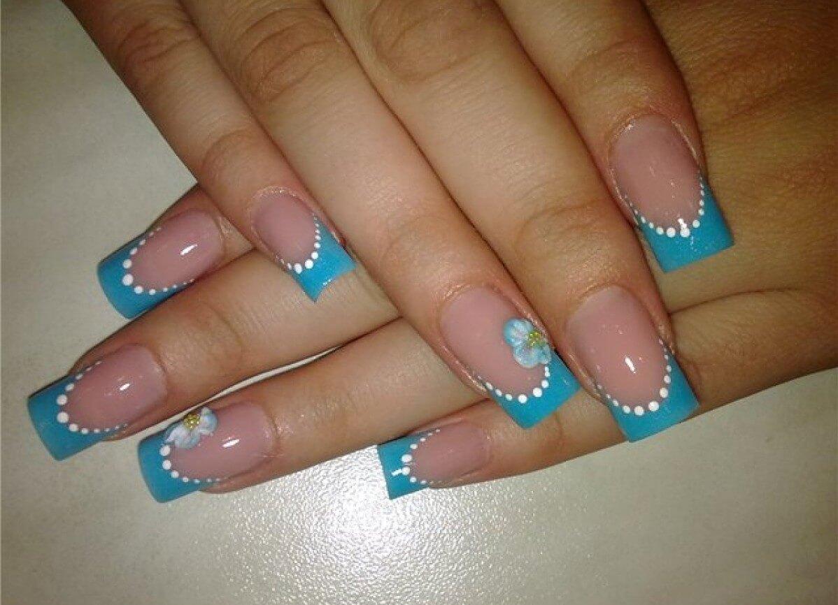 Очень красивый дизайн ногтей-163 фото -Фото