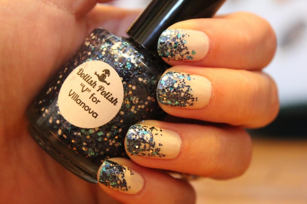 Как накрасить ногти красиво с блестками