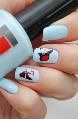 Дизайн ногтей: наклейки для маникюра