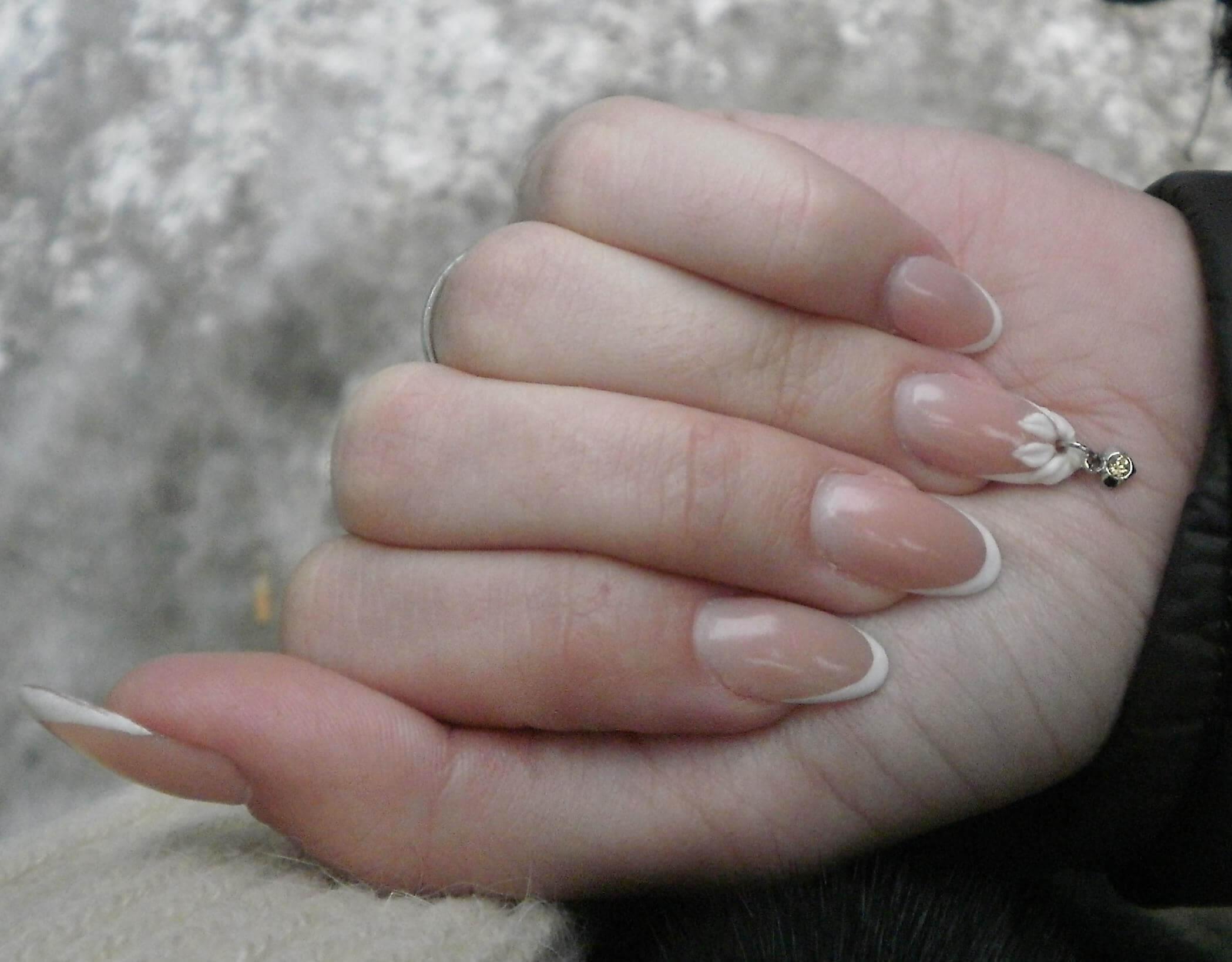 Пирсинг для ногтей фото