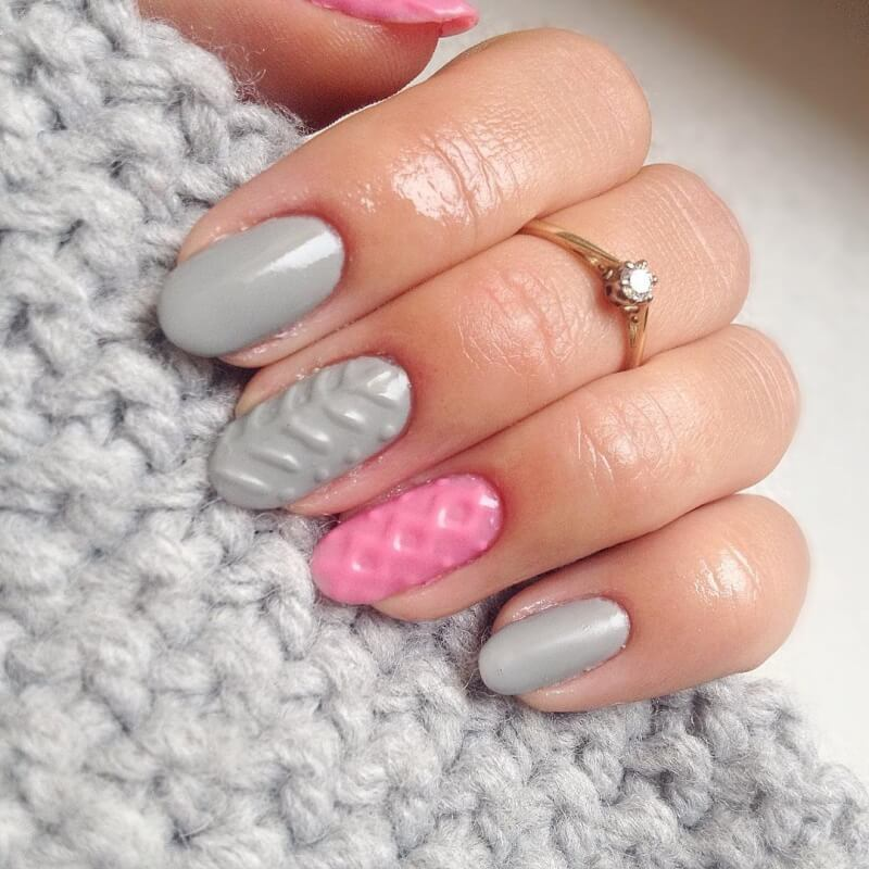 объёмный гелевый дизайн ногтей