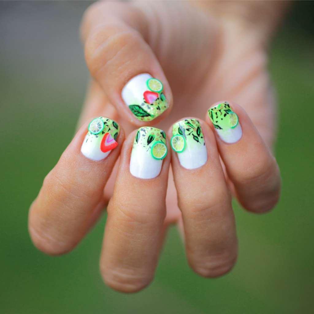 Классный дизайн на короткие ногти фото