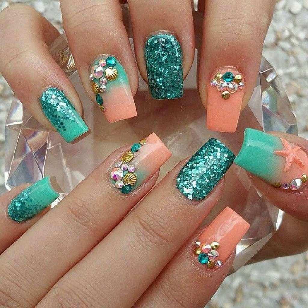 Гелевый дизайн ногтей 2016