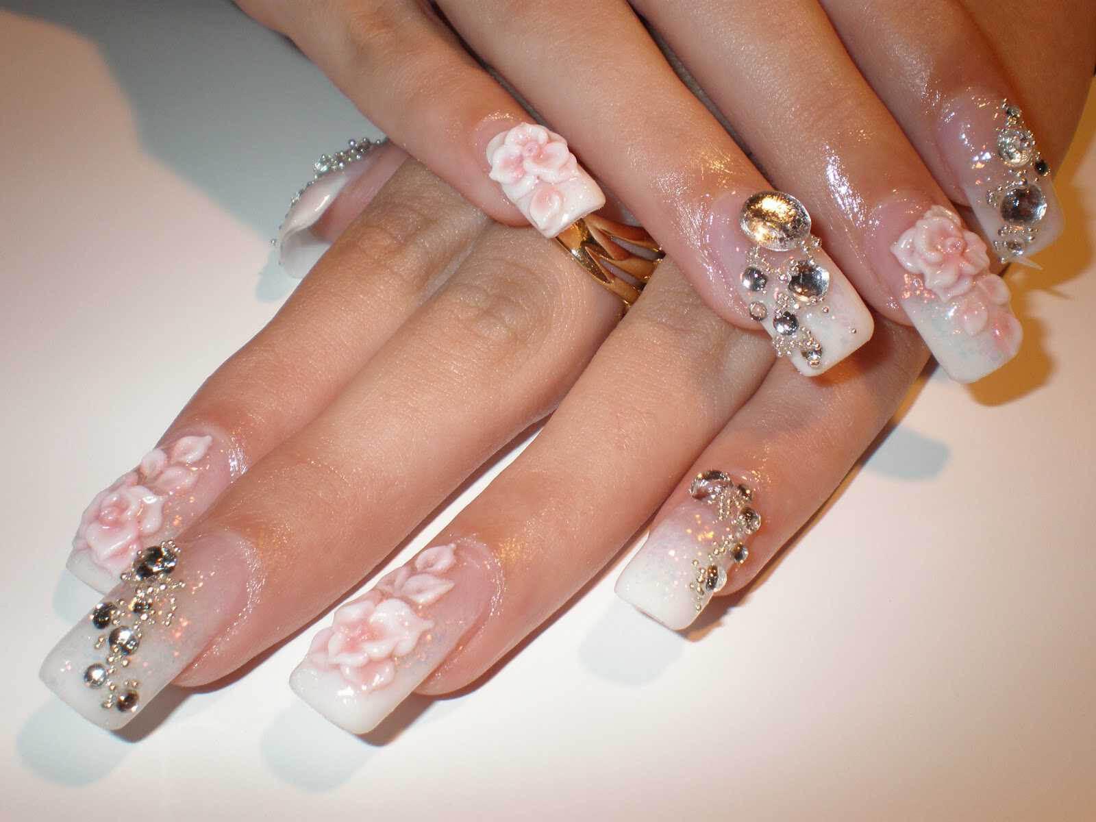 Дизайн оформления ногтей фото