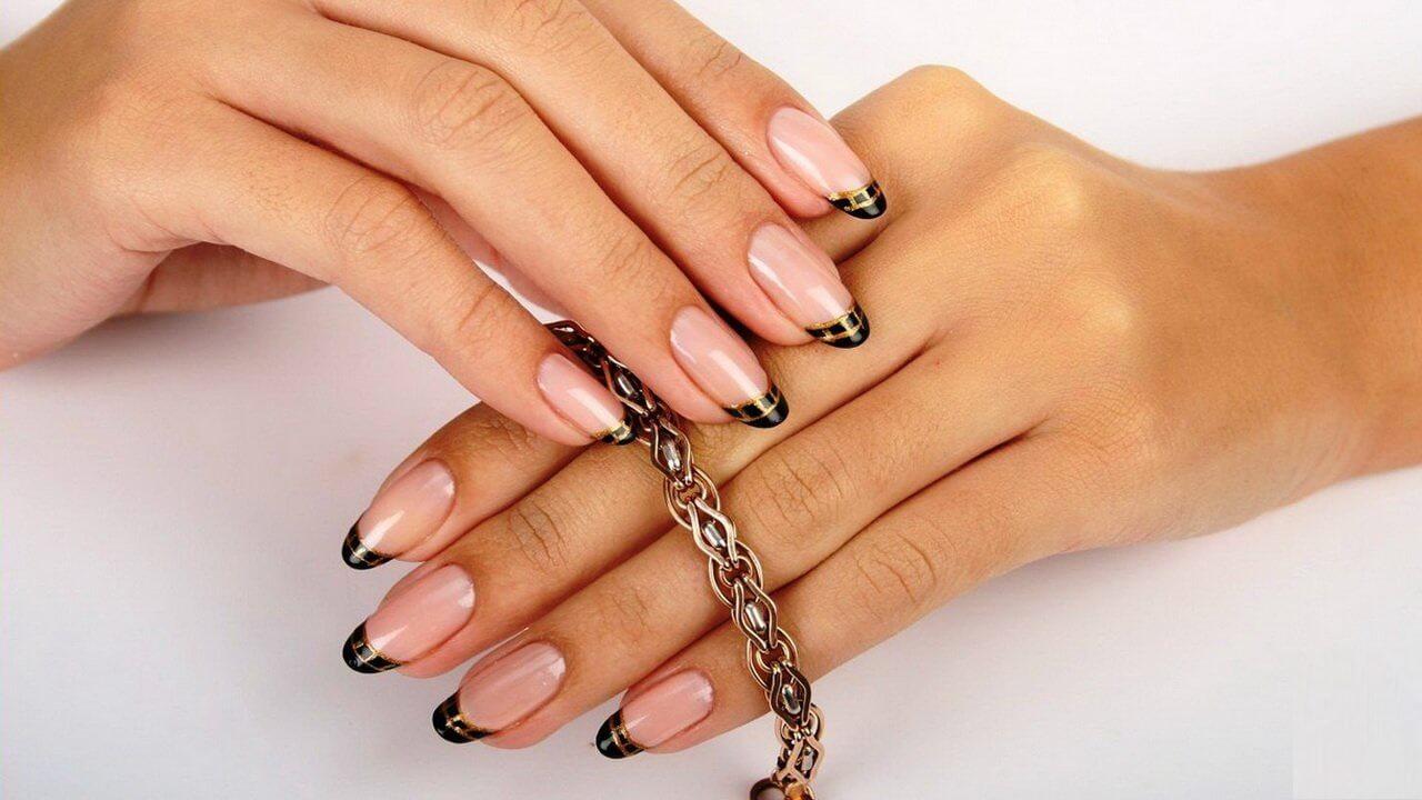 Красивые с нарощенными ногтями