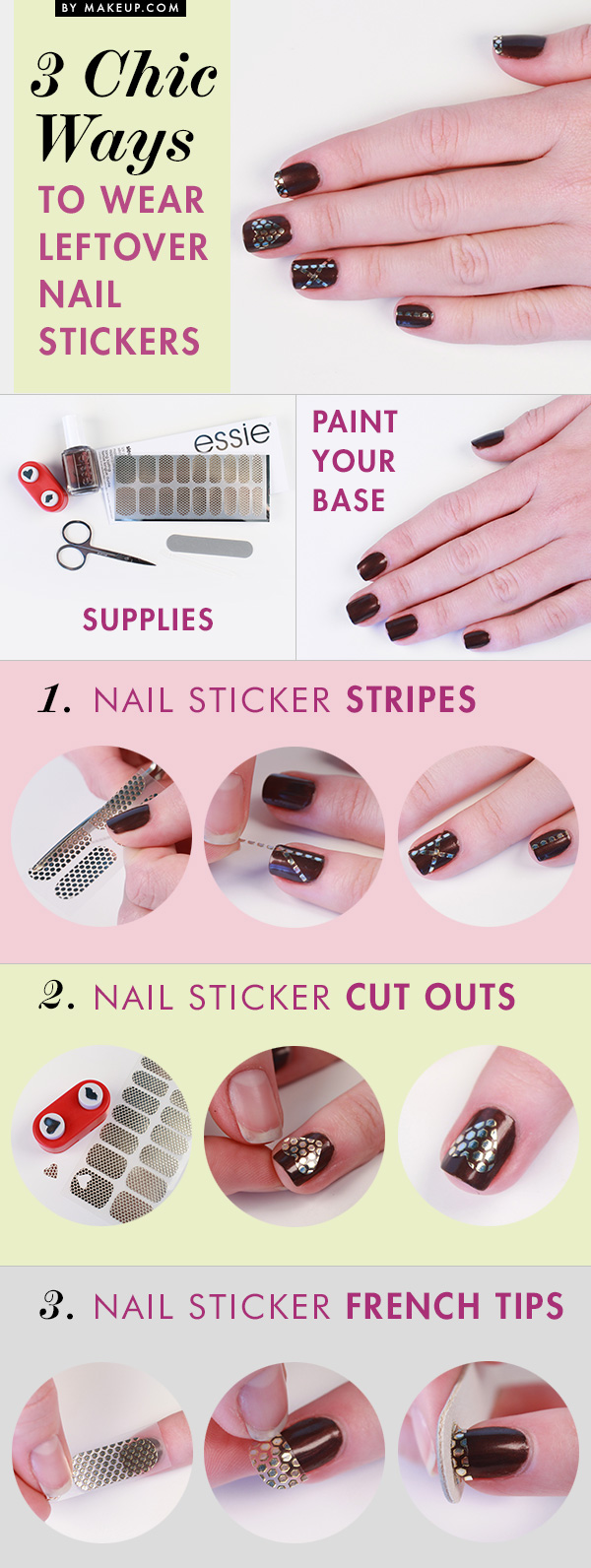 3_chic_ways_to_wear_leftover_nail_stickers