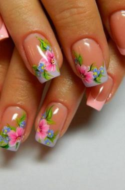 Наращивание ногтей: дизайн