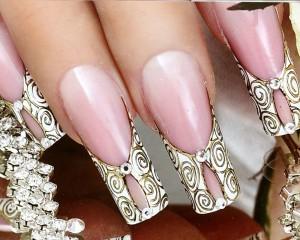 Свадебный маникюр ногтей в Москве – цена