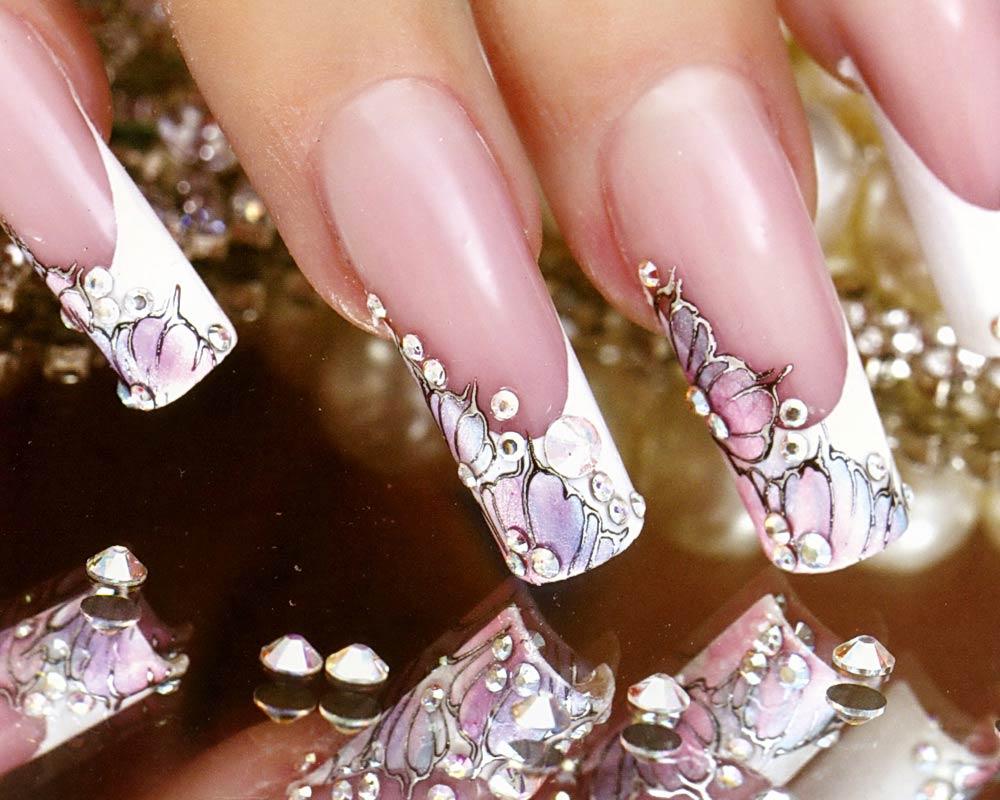 дизайн ногтей со стразами в картинках мечтаешь густом