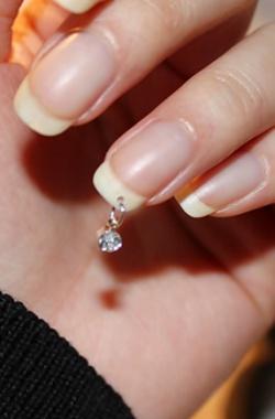 Пирсинг на натуральные ногти