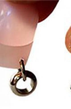 Пирсинг ногтей – украшения