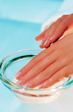 Парафиновое обертывание для ногтей